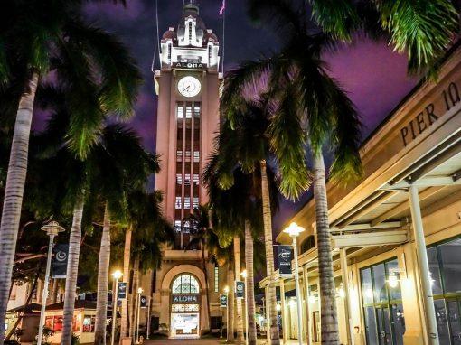 ALOHA TOWER – Honolulu, Hawaii